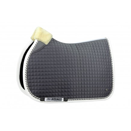 PS of Sweden Jump Saddle Pad, Grey, PRO, FULL