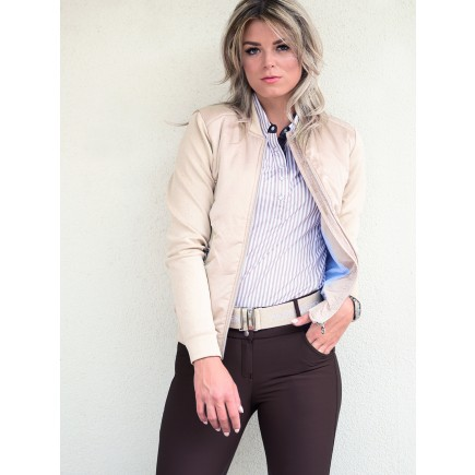 PS of Sweden Bomber Jacket, April, Beige