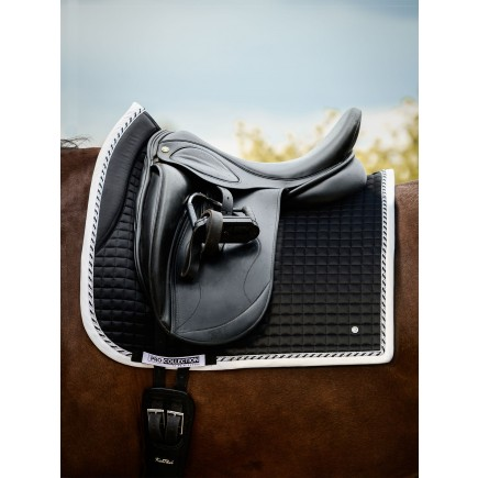 PS of Sweden Dressage Saddle Pad, Black, FULL