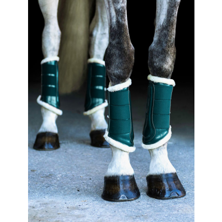 Equestrian Stockholm Brushing Boots Amazonite