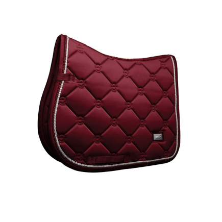 Equestrian Stockholm Jump Saddle Pad Bordeaux