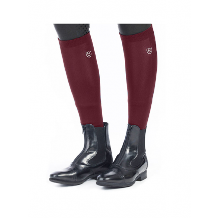 Equestrian Stockholm Riding Socks Bordeaux