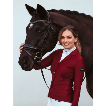 Equestrian Stockholm Competition Jacket Bordeaux