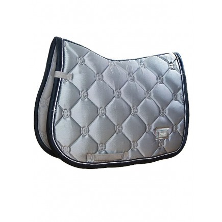 Jump Saddle pad Crystal Grey Pony