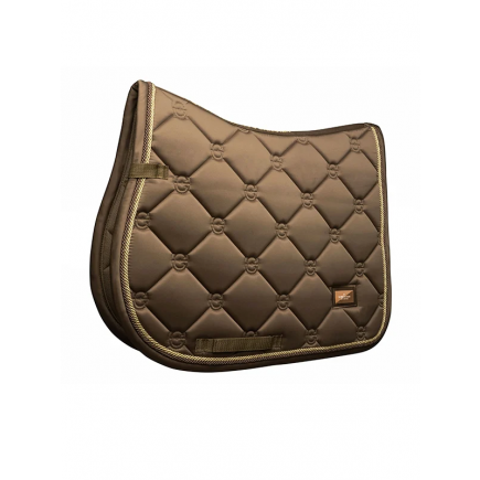 Equestrian Stockholm Jump Saddle Pad Champagne Pony