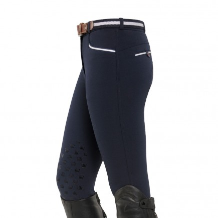 Leena Knee Grip Breeches - Navy