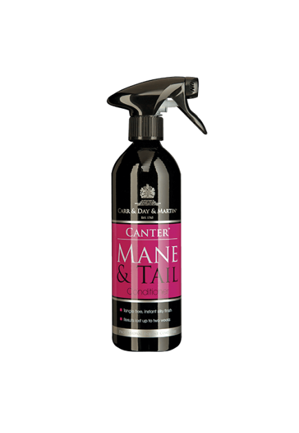 CARR & DAY & MARTIN BELVOIR CANTER MANE & TAIL CONDITIONING SPRAY 500 ML ALUMINUM BOTTLE