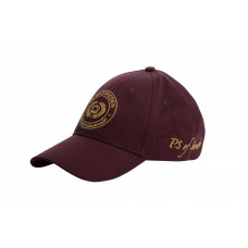 PS of Sweden Cap, Deborah, Wine/Gold