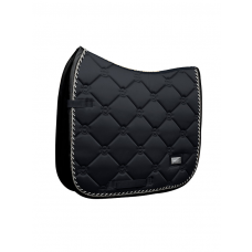 Equestrian Stockholm Dressage Saddle Pad Black Edition COB