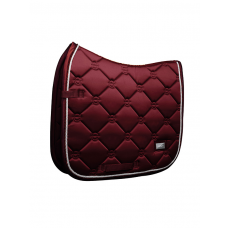 Equestrian Stockholm Dressage Saddle Pad Bordeaux COB