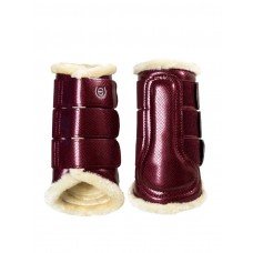 Equestrian Stockholm Brushing Boots Bordeaux