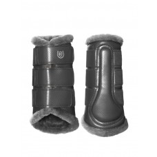 Equestrian Stockholm Brushing Boots Silver Cloud